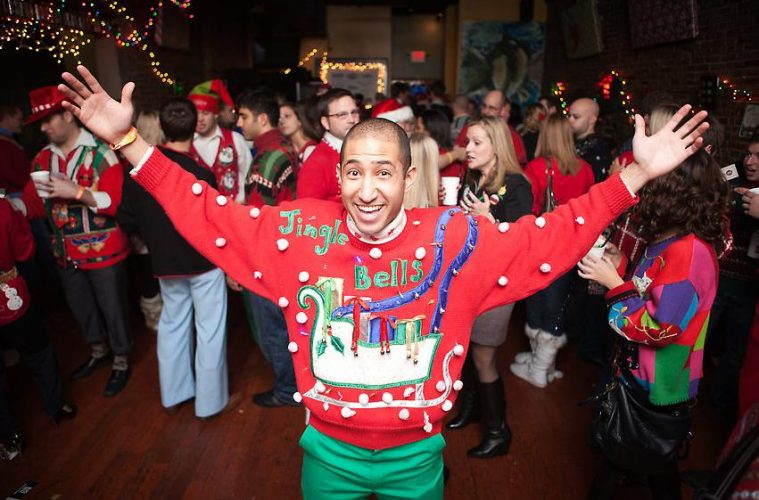 ugly christmas sweater party by lake nona social